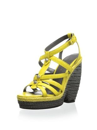 57% OFF Balenciaga Women's Platform Sandal (Yellow)
