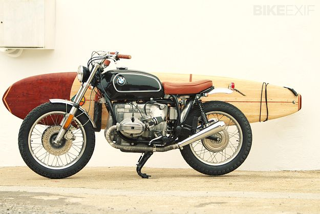 1979 BMW R65 + Surfboard by Xabi Ithurralde | Gear X Head