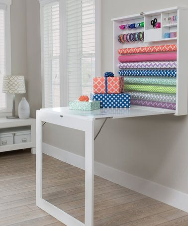 Love this Fold Down Gift Wrap Table on #zulily! #zulilyfinds We R memory Keepers