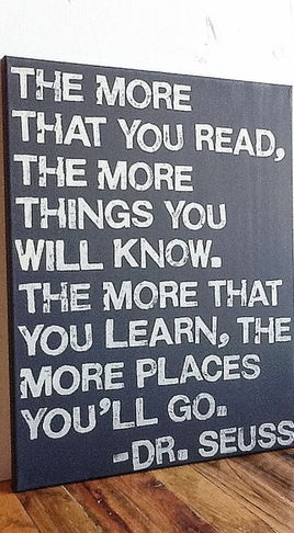 | P | The more you read...