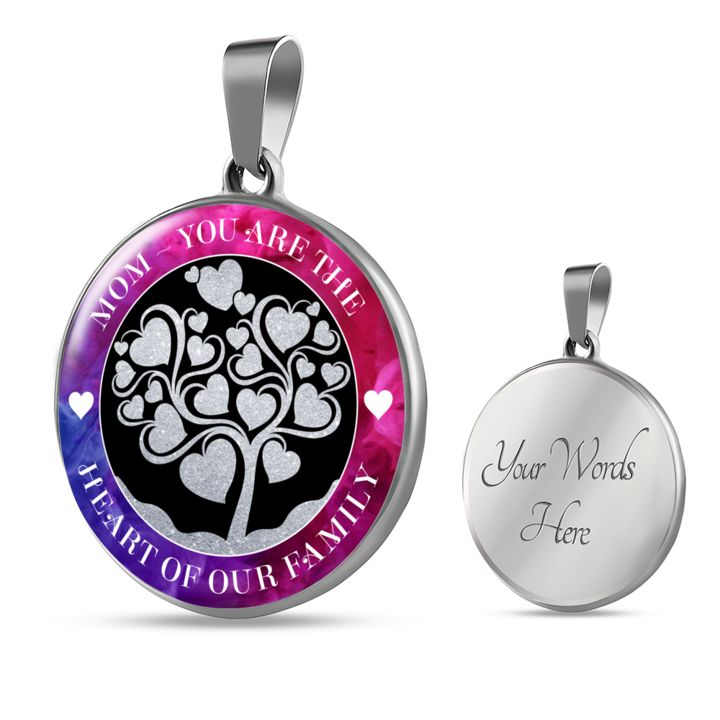 Best Mom Gift, Mom You Are The Heart of our Family Birthday Gift for Mom Mother Gift ideas