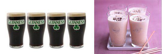 Guinness Milkshake for St. Patrick's Day