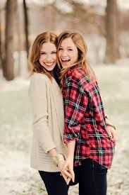 Image result for bff winter portraits