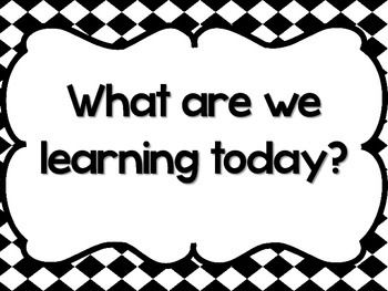 115 best Class Learning Objectives images on Pinterest