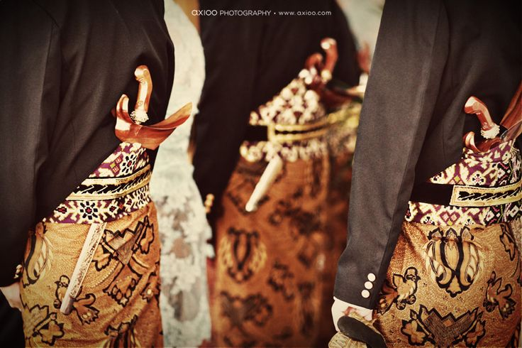 Photograph from Javanese wedding