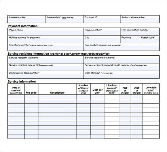 medical-billing-invoice-template-free.jpg (580×528)