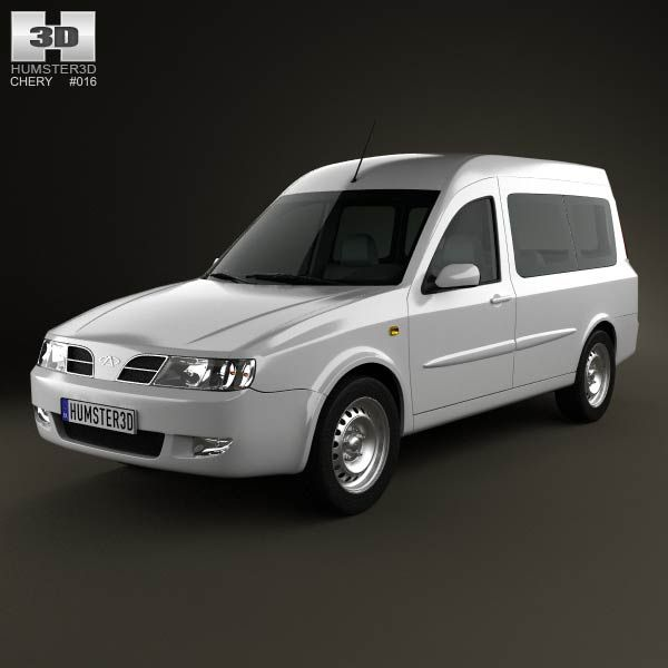 Chery Karry (A18) 2012 3d model from humster3d.com. Price: $75