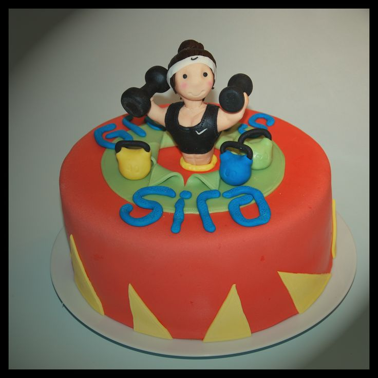 Strong woman cake to my sisters friend