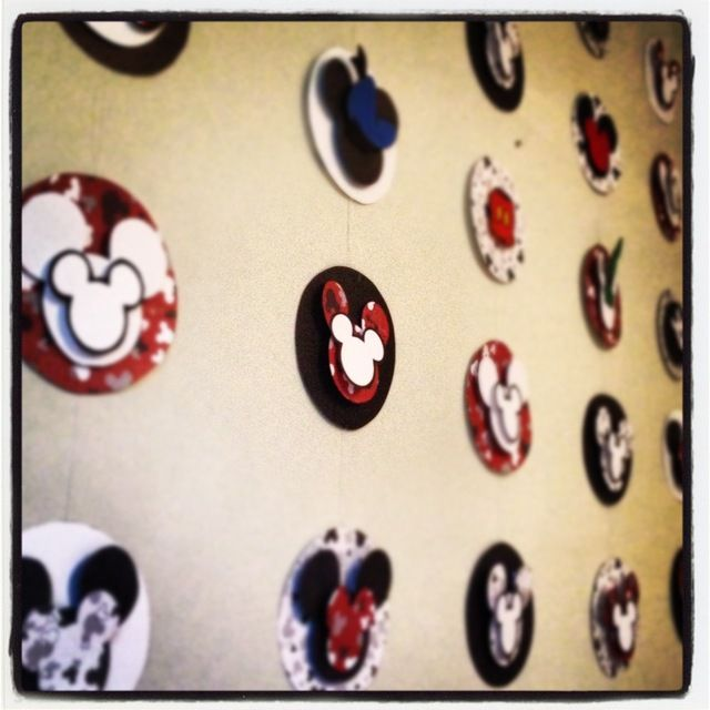 Great Mickey Mouse backdrop! #MickeyMouse