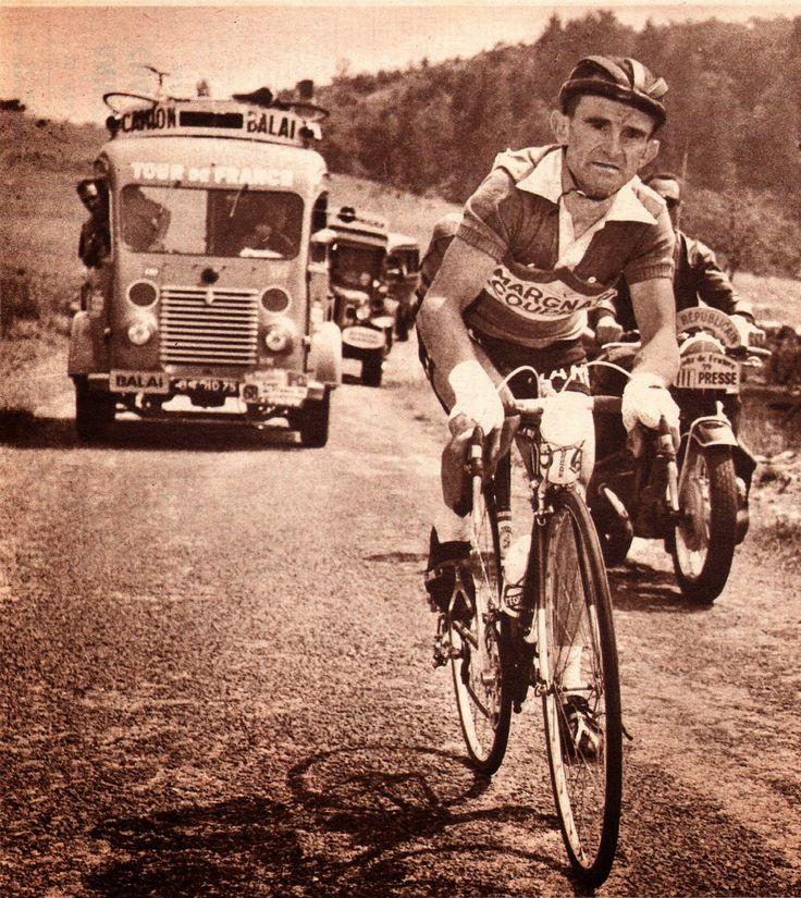 Tour de France 1959. Jean Robic (1921-1980)