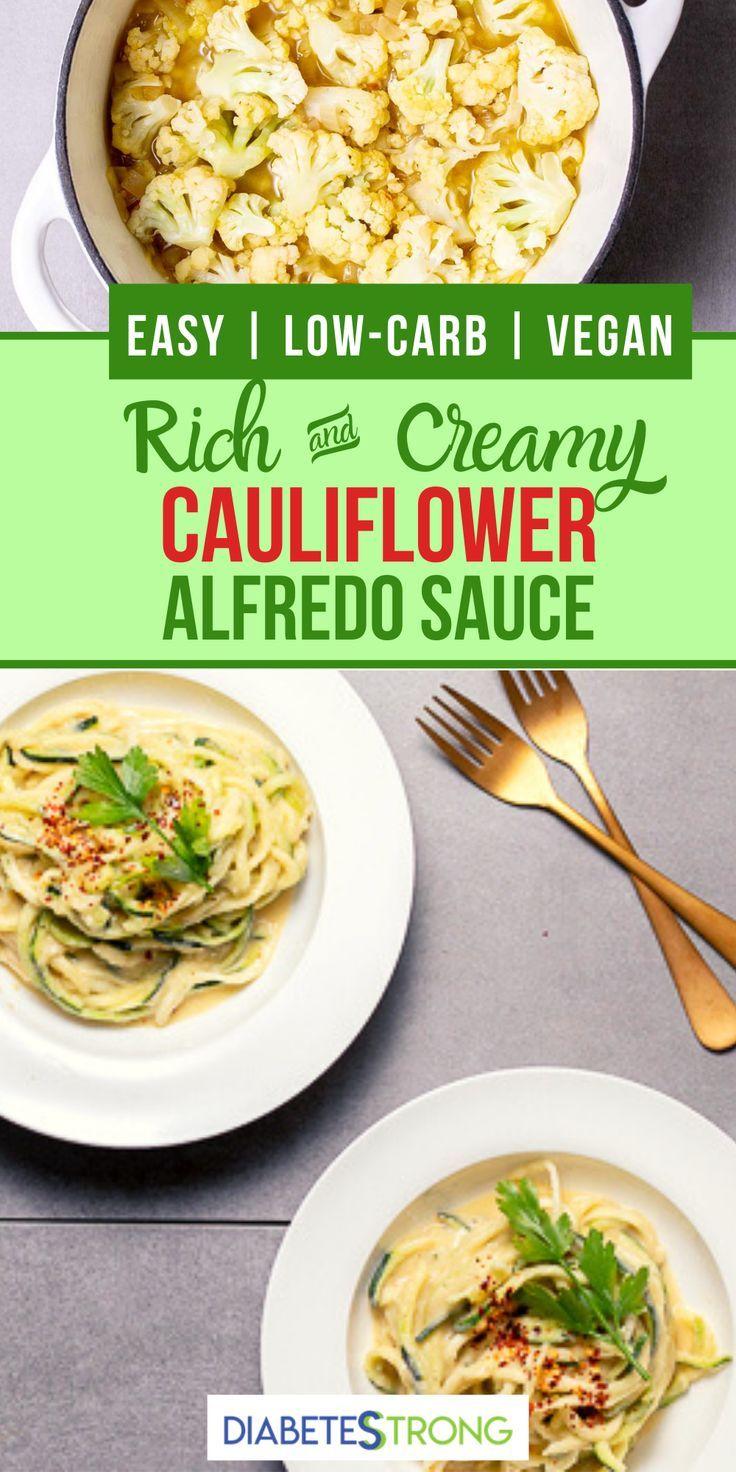 Cauliflower Alfredo Sauce Vegan Recipe In 2020 Cauliflower Alfredo Sauce Cauliflower Alfredo Cauliflower Alfredo Sauce Vegan
