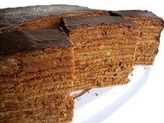 """Я со школьных времен пеку торт """"Дамский каприз"""" (не шоколадный), вот даже рецептик сохранился (да еще и с ошибками :) )"""