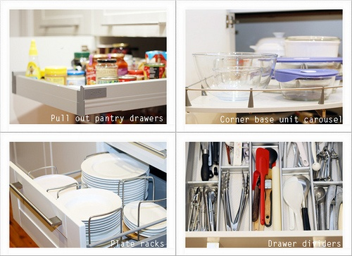 IKEA storage solutions for a kitchen | For more details about this kitchen visit: www.ishandchi.com