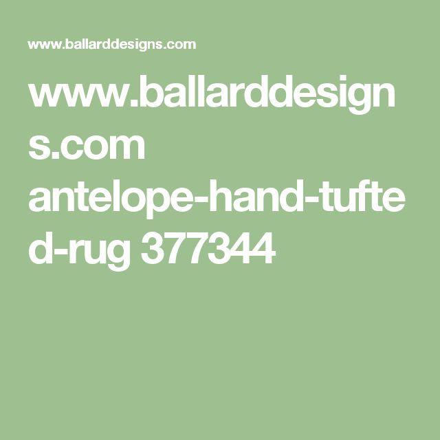 www.ballarddesigns.com antelope-hand-tufted-rug 377344