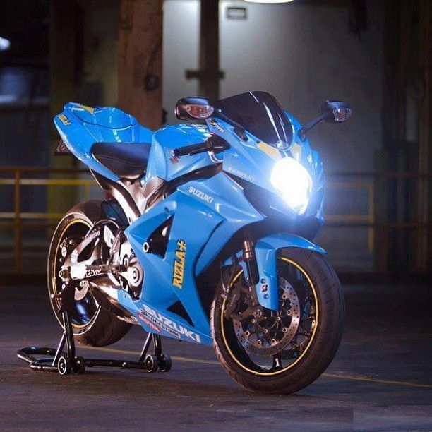 And thirdly the Suzuki GSXR1000 - WANT!