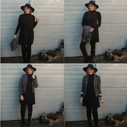 Casual black during the holidays? Check out this Blog of Ella about the perfect looks for the holiday period!