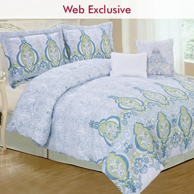 5pc Patterned Bedding Set- Queen