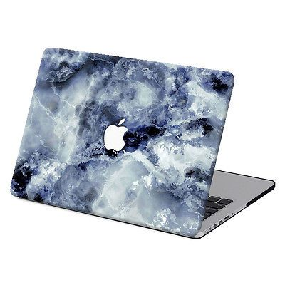 """Caso duro recubierto de goma Pintura De Mármol Para Macbook Pro Air 11 13"""" 15"""" Retina 12 + KB"""