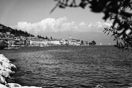 View across the bay of Salo #Lake Garda #Italy
