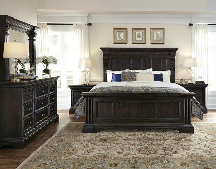 Caldwell 6/6-6/0 Panel Headboard (Caldwell Beds) | Pulaski Furniture | Home Meridian