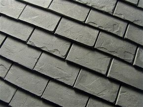 how to: slate look roof tiles, Excellent tutorial for making slate shingles or stone floors!!