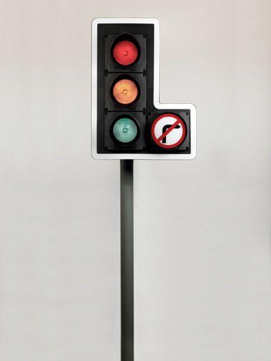 Traffic light system, 1966.