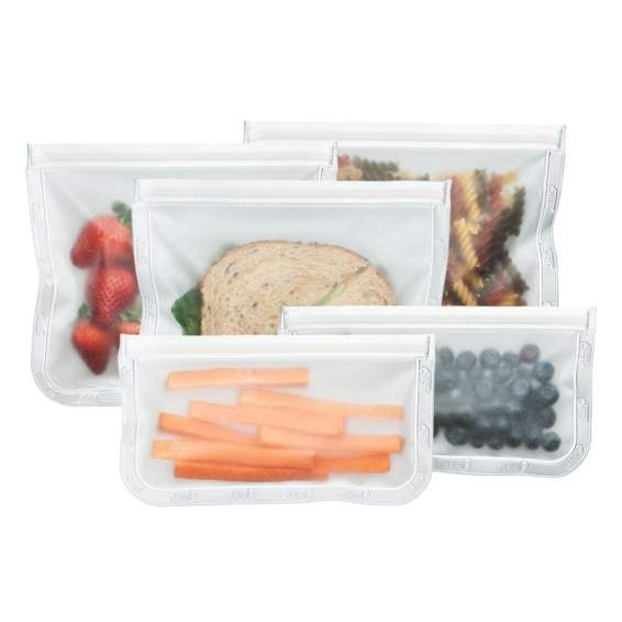 Shop BlueAvocado (Re)Zip Seal Bags 5-Piece Lunch Kit at wholesale price only at ThriveMarket.com