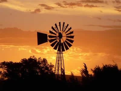 sunset in Middelburg KAROO, Eastern Cape...