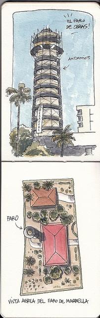 Faro en obras - Raul Leon by Bichobolas, via Flickr