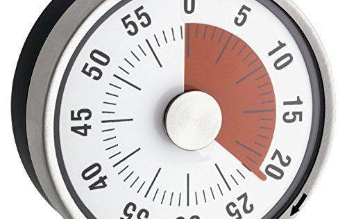 Minuteur Mécanique de Cuisine – Inox – Magnétique – Ø 8 X 3.2 cm: Ce minuteur magnétique surveille votre cuisson avec précision et…
