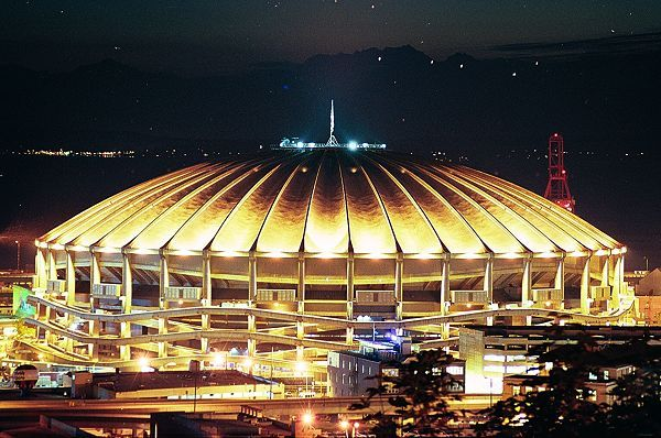 Former Kingdome in Seattle, Wa. Former Home of the Seattle Mariners & Seahawks.