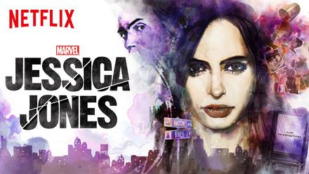 "Check out ""Marvel's Jessica Jones"" on Netflix"