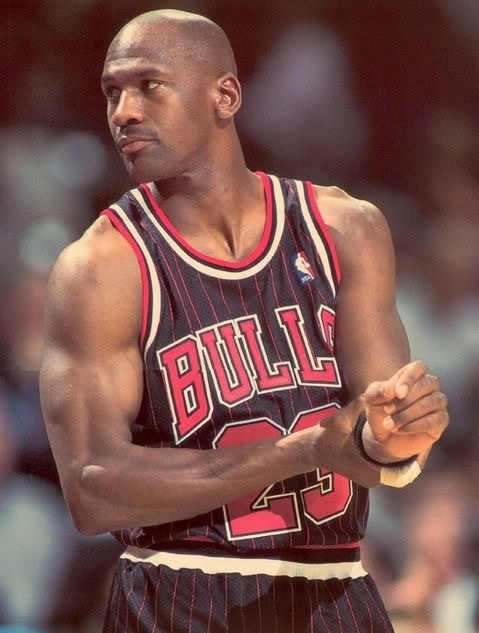 Michael Jordan - Chicago Bulls. Got to see him in person more than once!