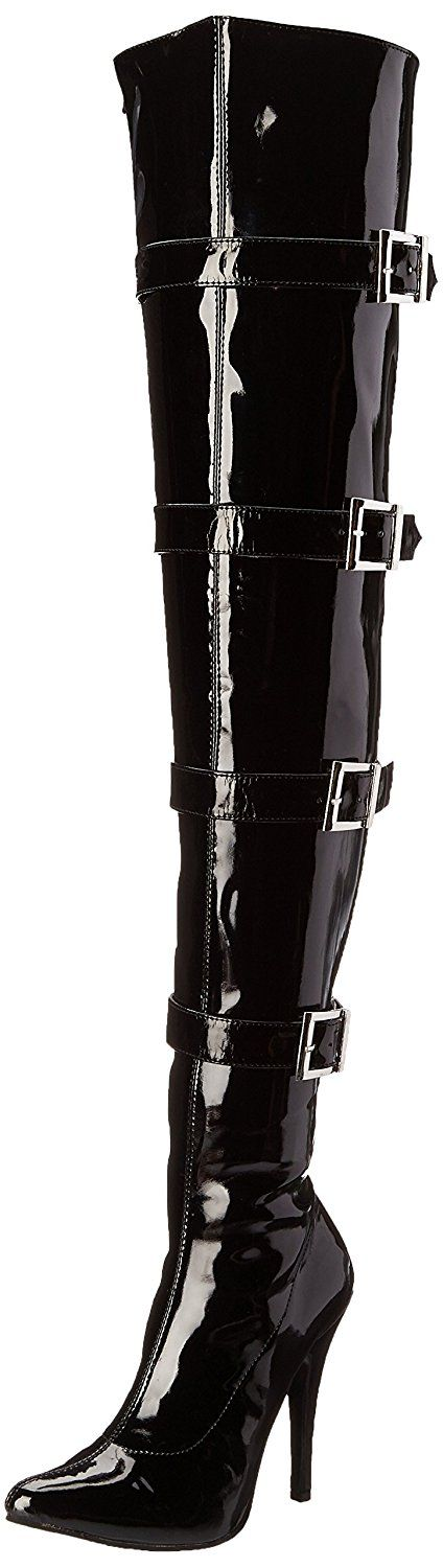 Ellie Shoes Women's 511-Buckleup Snow Boot *** Trust me, this is great! Click the image. : Over the knee boots