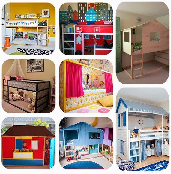 Mar&Vi Creative Studio - España: Ikea Hacks: Ideas para personalizar la cama Kura