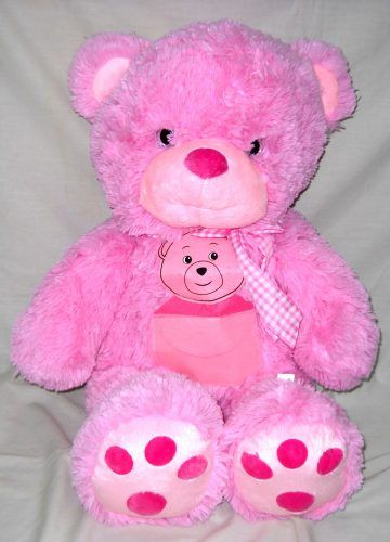 Boneka Beruang Merah Muda Tarissa 28 Inch (520699BMM)  Boneka Beruang Merah Muda Tarissa 28 Inch (520699BMM)  Boneka binatang beruang merah muda tarissa ukuran 28 inch ini terbuat dari bahan yang halus dan lembut.  Cocok digunakan sebagai kado ulang tahun hadiah buat anak keponakan sepupu pasangan kekasih pacar sahabat teman ataupun bingkisan pada momen istimewa seperti ulang tahun pernikahan valentine kenaikan kelas kelulusan hari kasih sayang dan lain-lain.  Buruan order sebelum kehabisan…