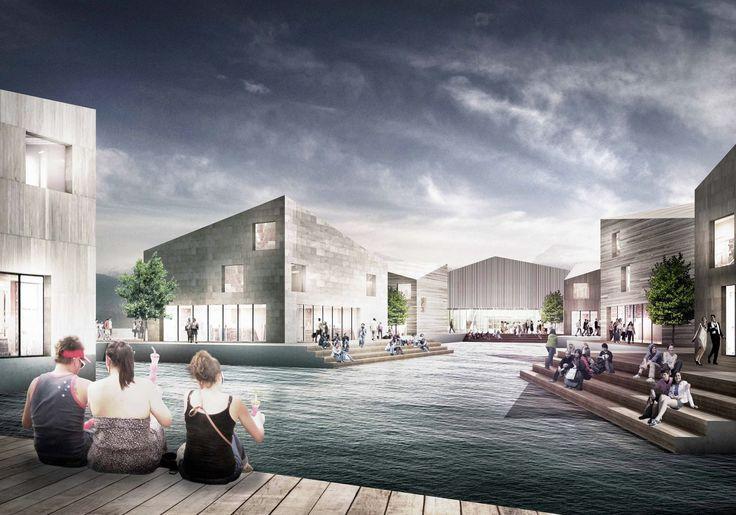 'Sundbyen' Harbor Front Proposal / JAJA Architects,Courtesy of JAJA Architects