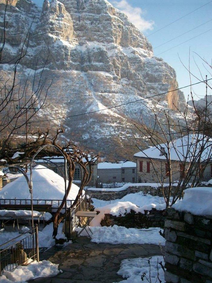 25 φανταστικά τοπία της Ελλάδας που αποδεικνύουν ότι ο χειμώνας της πάει πολύ-Πάπιγκο
