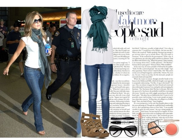 """Dress Like Jennifer Aniston"" by sunshine-design on Polyvore"