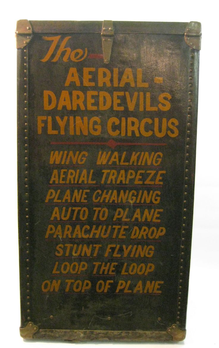 The Aerial Daredevils Flying Circus Footlocker