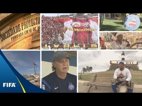 Episode 7 - 2014 FIFA World Cup Brazil Magazine - Visits colourful Salvador to find out about a famous dance, some food and a Brazilian national team icon, Paulo Roberto Falcao.