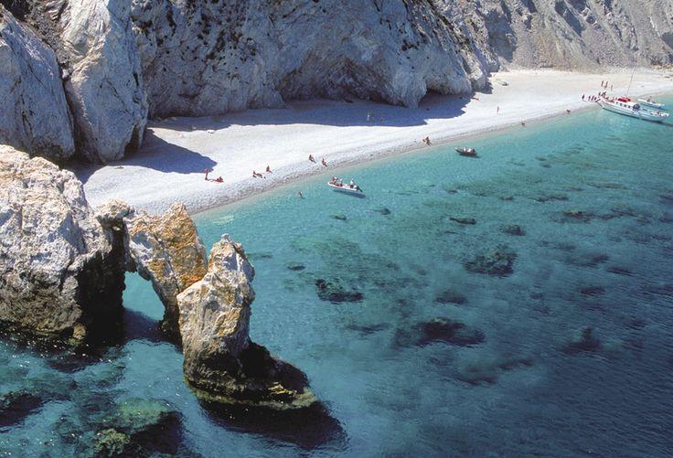 Lalaria beach Skiathos island Greece