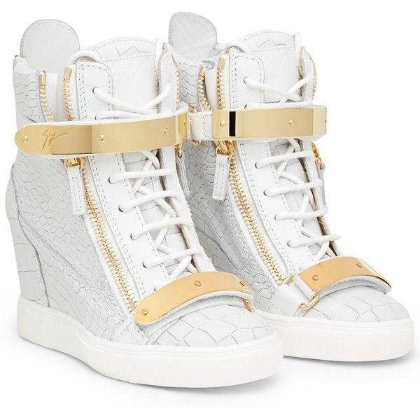 SNEAKERS - Sneakers Giuseppe Zanotti Design Women on Giuseppe Zanotti... ($910) ❤ liked on Polyvore featuring shoes, sneakers, giuseppe zanotti, giuseppe zanotti shoes, giuseppe zanotti trainers and giuseppe zanotti sneakers