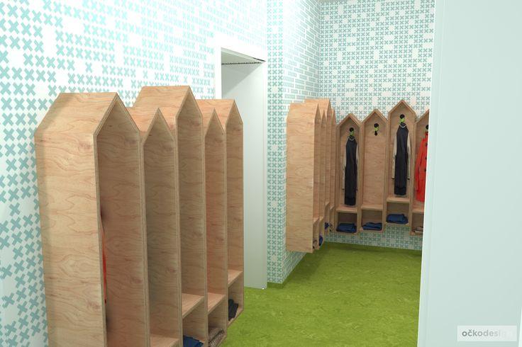 moderní mateřská školka - zajímavé designové interiéry