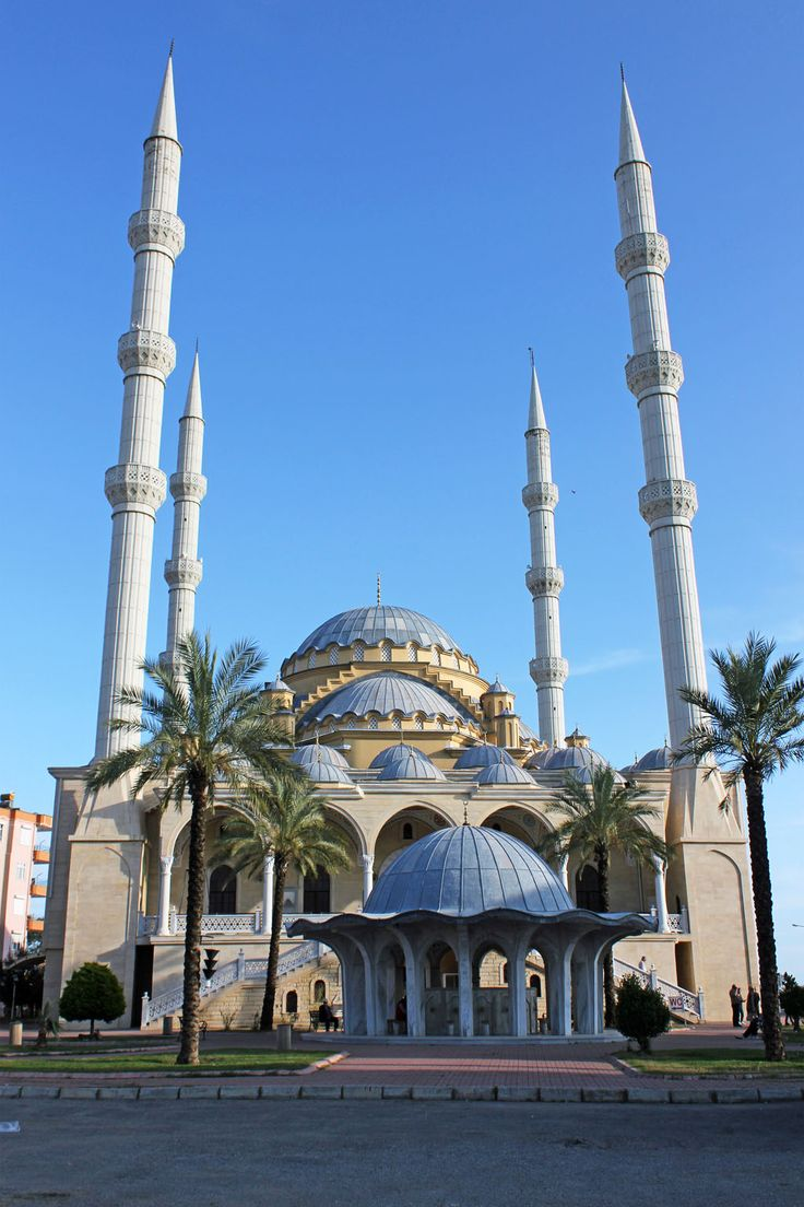 Manavgat Mosque is Located at Antalya Province in Manavgat Town and District of Turkey