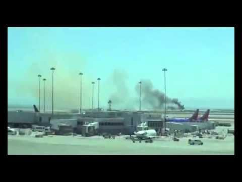 Asiana Airlines Flight 214 Boeing 777 Plane Accident At SFO July 6, 2013
