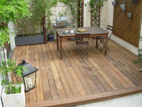 R aliser une petite terrasse dans ma cour garden for Garden idea et 700