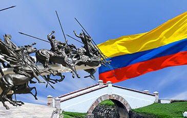 La Batalla de Boyacá (departamento de Boyacá, en el centro nororiental de Colombia), fue una de las batallas decisivas de la guerra de independencia de América del Sur y garantizó el éxito de la Campaña Libertadora de Nueva Granada. La batalla tuvo lugar el día 7 de agosto de 1819 en el cruce del río Teatinos, en inmediaciones de la ciudad de Tunja. La batalla se salda con la rendición en masa de la división realista, y fue la culminación de 77 días de campaña iniciada desde Venezuela por el…
