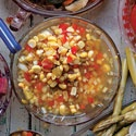 Corn RelishBarbecues Side Dishes, Bright Taste Relish, American Barbecues, Flavor, 4Th Of July, Corn Relish Recipe, Corn Recipe, Summer Corn, Barbecue Side Dishes