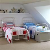 Oliver Children's Iron Beds - I'd adore these in James & Eleanor's bedrooms